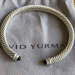 Authentic David Yurman Black Onyx bracelet